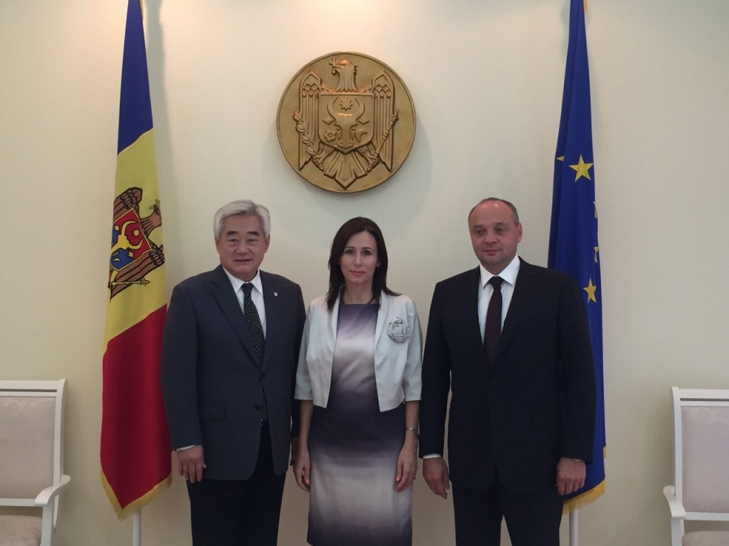 Moldovan Prime Minister pledges to promote taekwondo nationwide following meeting with WTF President